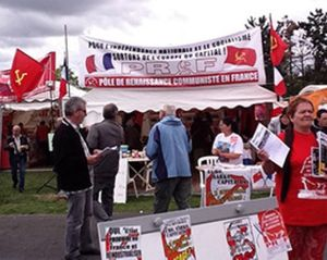 Le Pôle de Renaissance Communiste en France (PRCF) sera présent à la FÊTE DE L'HUMANITÉ 2013.