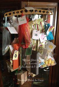 confection d'un calendrier de l'avent et ses cadeaux