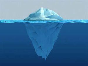Maltraitance et iceberg