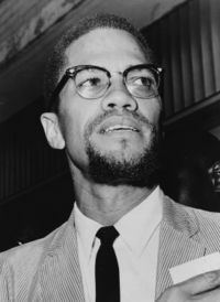 Oppression, exploitation, dégradation, ségrégation - citation de Malcolm X
