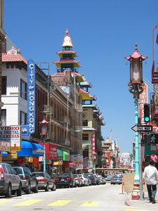 Le chinatown de San Francisco.