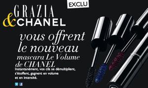 Un mascara Le Volume de Chanel offert