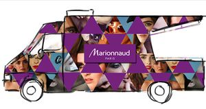Le beauty Truck Marionnaud s'installe à Paris