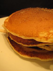 pancakes fromage ciboulette (Thermomix)