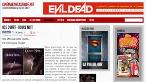 Interview sur Cinemafantastique.net