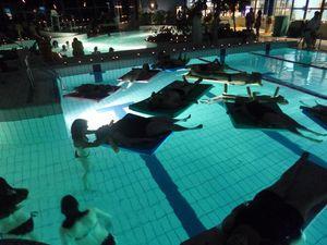 Une soirée ZEN à la piscine de Gouvieux bien réussie