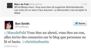Twitter &quot&#x3B;supprimer Christine Boutin&quot&#x3B;...