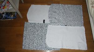 J'ai fini mon sac en tissu