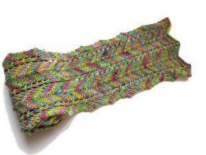 L'écharpe à chevrons