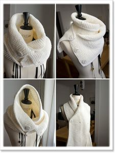 Le snood au point mousse
