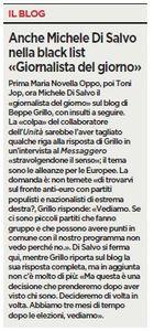 Lettera a Beppe Grillo