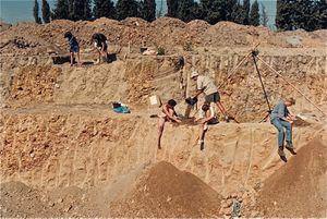 Des silos à grains, une grande découverte archéologique en Auvergne...