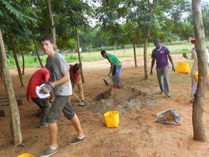 Camp-chantier des jeunes de OMAJ