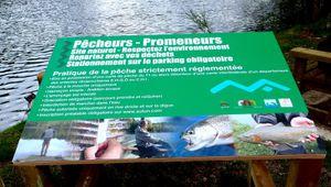 On y était: Homing à l' étang des Cloix, Autun.