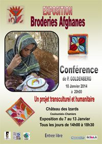 Exposition Broderies Afghanes