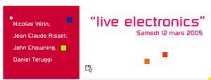 Création de Interleaved tracks avec Louis Sclavis à la Maison de la Radio