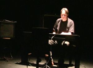 Gestural by Christopher Dobrian, performed by Nicolas Vérin at Conservatoire Iannis Xenakis, Evry