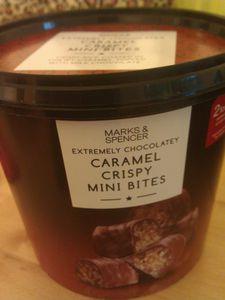 J'ai testé... les caramel crispy mini bites de Mark &amp&#x3B; Spencer