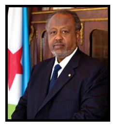 Ismail Omar Guelleh, chef de l'État depuis 1999.
