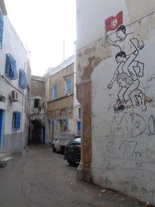 Dans la médina de Tunis.