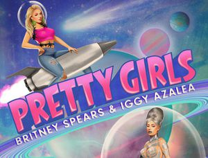 Britney Spears &amp&#x3B; Iggy Azalea présentent leur single &quot&#x3B;Pretty Girls&quot&#x3B; !