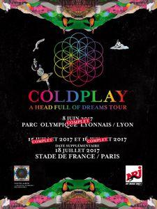 Coldplay annonce quatre concerts exceptionnels en France !