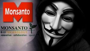 Anonymous: monsanto visé par une campagne de piratage :)