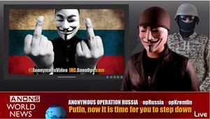 Anonymous: #OpRussia et #OpKremlin