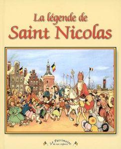 La légende de Saint Nicolas d'Anne-Marie Dragt et Freddie Langeleer
