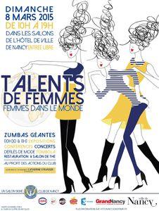Talents de femme : l'affiche !