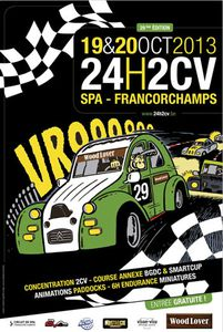 24h 2cv Spa-Francorchamps : 28e Edition !