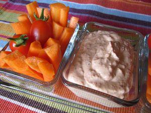 Dip aux tomates séchées