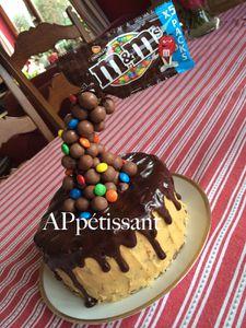 Gravity Cake - Layer Cake Chocolat-Caramel