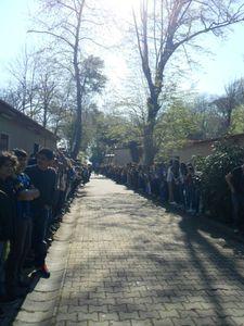 12.04.2013 : Départ de La Traversée au Lycée Pierre Loti d'Istanbul