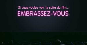 Pub gay friendly &quot&#x3B;Ciné kiss challenge&quot&#x3B;