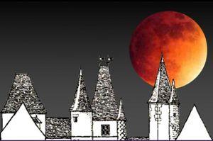 La super Lune de ce soir...