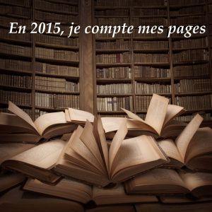 Challenge: En 2015, je compte mes pages