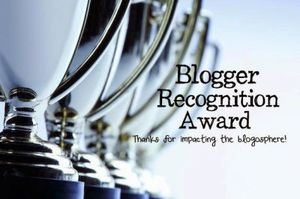 Blogger Recognition Award ♥
