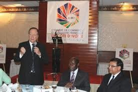 Encourager les entreprises françaises à investir en Côte-d'ivoire.
