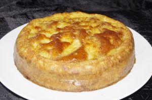 Gâteau rouennais aux pommes