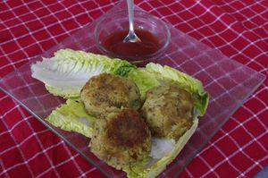 Falafels pour Foodista Challenge#17