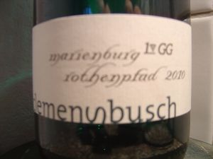 Dégustation Riesling Moselle allemande