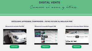 le 1er Site de ventes video-digital automobiles
