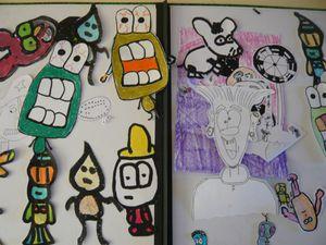 6. ATELIER &quot&#x3B;ArtaDô&quot&#x3B; : Wall Drawing N' co