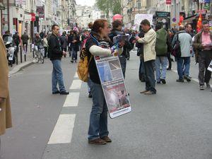 Manifestation du 1er mai 2013 contre la GÉO-INGÉNIERIE !