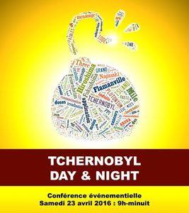 Conférence événementielle Tchernobyl day and night