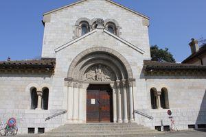 Les peintures des bas-côtés de l'église Saint Paul, Genève