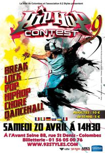 9ème Hip-Hop Contest à Colombes