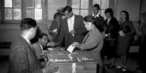 Vote et éligibilité des femmes. C'était il y a 70 ans !