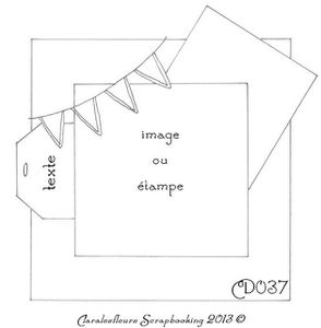 Deux versions de cartes pour un sketch avec le kit Maggie Holmes de Crate Papers...